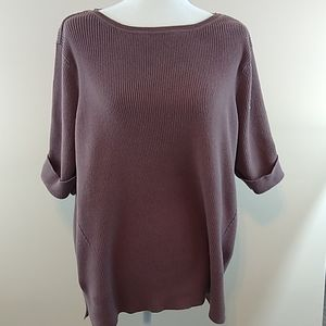 SS Ribbed Sweater